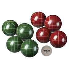 NEW Verus Sports Expert Bocce Ball Set with Easy Carry Nylon Case 9-Piece, 107mm