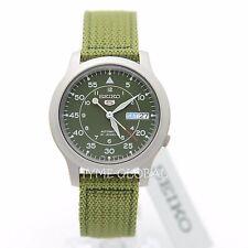 Seiko 5 SNK805K2 Automatic Military Green Nylon Strap Analog Watch