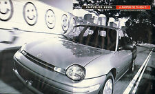 Publicité Advertising 1996 ( Double page )  CHRYSLER NEON