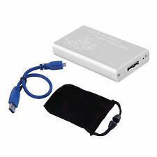 Mini mSATA to USB 3.0 SSD Hard Disk Box External Enclosure Case with Cable DP