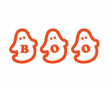 Boo Ghosts Decal Cute Cool Scary Wall Vinyl Halloween Holiday Party Decorations