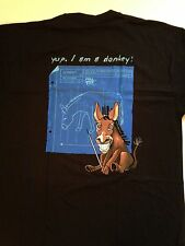 "Full Tilt Poker T-Shirt M ,XL, 2XL, 3XL"" Yup ,I am a donkey "",Gildan 100%Cotton"