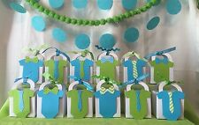 Little man Gentlemen Baby Shower Thank You favor boxes ~ Customize