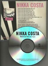 NIKKA COSTA Stuck to you  7TRX MIXES w/ DAVE AUDE & RICHARD VISSION PROMO DJ CD