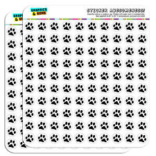 "Paw Print Pet Dog Cat 0.5"" Scrapbooking Crafting Stickers"