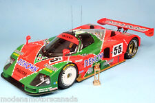 1991 MAZDA 787B LeMANS WINNER CAR #55 1:18 by AUTOART #89142 WITH TROPHY SPECIAL
