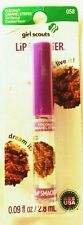 LIP SMACKER Girl Scouts CHOCOLATE CARMEL STRIPES cookie flavor .09 oz (CARDED)