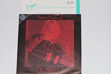 """KIRSTY MACCOLL -Free World / Closer To God- 7"""" 45 mit Product Facts Promo-Flyer"""