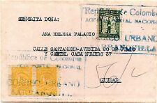 COLOMBIA - SPECIAL DELIVERY - URBAN EXPRESS MAIL COVER - BARRANQUILLA - Sc E1