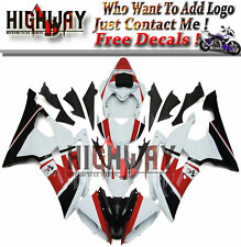 Fairings For Yamaha YZF 600 R6 08-15 ABS Plastic Fairing Kit Petronas White Red