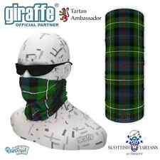 MacKenzie Clan Scottish Tartan Multifunctional Headwear Neckwarmer Tube Bandana