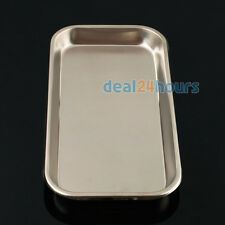 1 PCS Dental Stainless Steel Medical Tray Lab Instrument High Quality