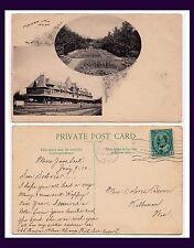 CANADA SASKATCHEWAN MOOSE JAW CPR DEPOT HOTEL 1910 TO KILBOURN WISCONSIN