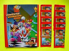 Aldi álbum Colección con 10 Bolsas Tom Jerry Loco Navidad Diversión