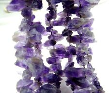 """100% Natural Rough Specimen Amethyst Gemstone Unshaped Loose Beads Jewelry 15"""""""