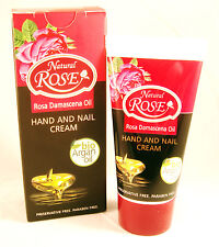 """Natural Rose"" Bio Argan oil & Rose oil Hand & Nail Cuticle Cream 50ml/1.69oz"