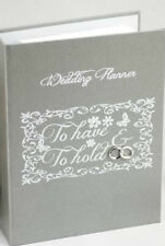 To Have & To Hold Grey Wedding Planner Diary Keepsake Engagement Gift