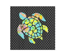 Sea Turtle in Lilly P design Decal Window/Car/Truck/Sticker **NEW ITEM**