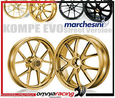 Cerchi Marchesini Alluminio Forgiato Oro Aluminium Wheels Ducati Monster S4 RS
