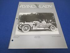 The Flying Lady Rolls-Royce, Magazine March/April 1989, 1911 Silver Ghost Barker