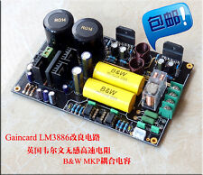 Douk Audio Assembled LM3886 Amplifier Stereo HiFi Power Amp Board CG Version