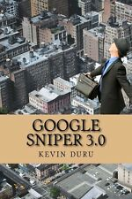 NEW Google Sniper 3.0 by Kevin Duru Paperback Book (English) Free Shipping