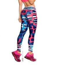 NEW LEGGINGS ACTIVE WEAR PANTS Gym Yoga LIFT/SHAPE Colombian A08