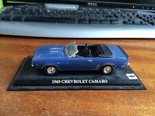 Del Prado 1/43 Scale 1969 Chevrolet Camaro - Blue