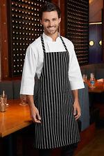 BLACK AND WHITE Grembiule macellaio ristorazione Cucina Professionale Chef Grembiule