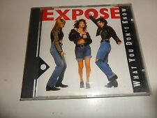 Cd  What you don't know (1989) von Expose´