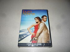 BURN NOTICE SEASON 3 DVD BOX SET 4 DISCS BRAND NEW AND SEALED