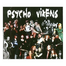 PSYCHO VIXENS Various Artists CD - Female Psychobilly Rockabilly Punkabilly Punk