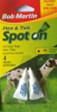 BOB MARTIN SPOT ON FLEA & TICK TREATMENT FOR SMALL MEDIUM and LARGE dog