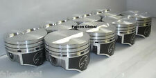 """Speed Pro Chevy 350 Hypereutectic Coated Flat Top 2VR Pistons Set/8 9.7:1 +.030"""""""
