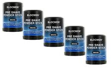 5 x BLOC MEN © pre shave Powder Stick ORIGINALE 60g (100g = 14,83 euro)