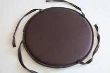Circular/Round Bistro Tie-on Kitchen/Dining/Patio Chair Seat Pad Cushions 15""