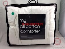 DEPARTMENT STORE My All Cotton Comforter KING White
