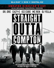 Straight Outta Compton (Blu-ray/DVD 2016, Includes Digital Copy) watch only once