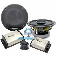 """IMAGE DYNAMICS CXS64-V2 6.5"""" 4-OHM COMPONENT SPEAKERS SILK TWEETERS CROSSOVERS"""