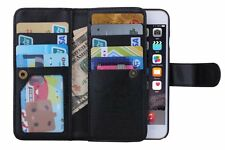 NEW LUXURY LEATHER DETACHABLE WALLET FLIP CASE FOR APPLE IPHONE 6 6S Plus 5.5