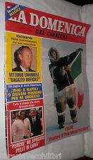 LA DOMENICA DEL CORRIERE 9 Aprile 1983 Fogar Scudo spaziale di Reagan Napoli di