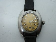 Vintage Ladies Garrard Automatic watch NOT WORKING For parts & Repair