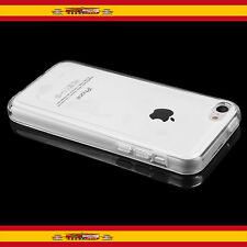 FUNDA TPU GEL ULTRAFINA 100% TRANSPARENTE PARA APPLE IPHONE 5C
