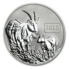 2015 Tokelau 1 oz Reverse Proof Silver $5 Year of the Goat Coin - SKU # 84370