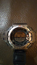 Rare CASIO PAT-400 Pathfinder Multisensor Watch Compass Band 90's Japanese Tech