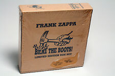 Frank Zappa Beat The Boots 8-LP Box Set 1991 - SEALED Promo