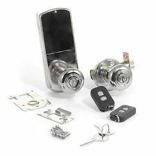 WIRELESS RF Remote Controlled Door Lock DOOR KNOB- SN