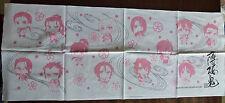 Hakuouki Shinsengumi Kitan Cotton wash cloth tengui Towel anime hakuoki Japan