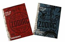 The Zodiac Legacy Books Convergence & The Dragon's Return by Stan Lee Disney New