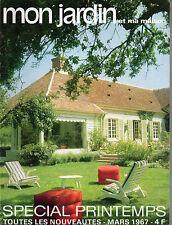mon jardin et ma maison n°106 special printemps toutes les nouveautes mars 1967